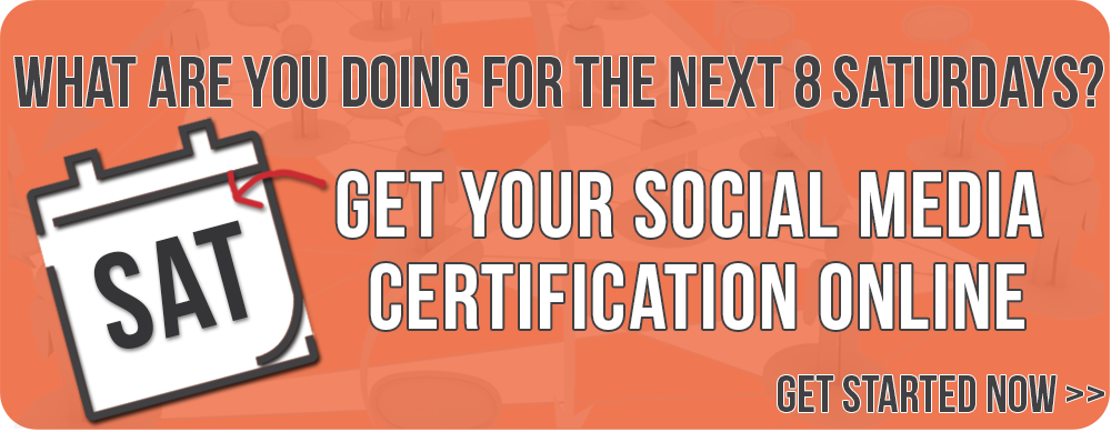 social media certification and training