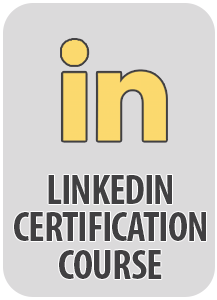 social media linkedin certification