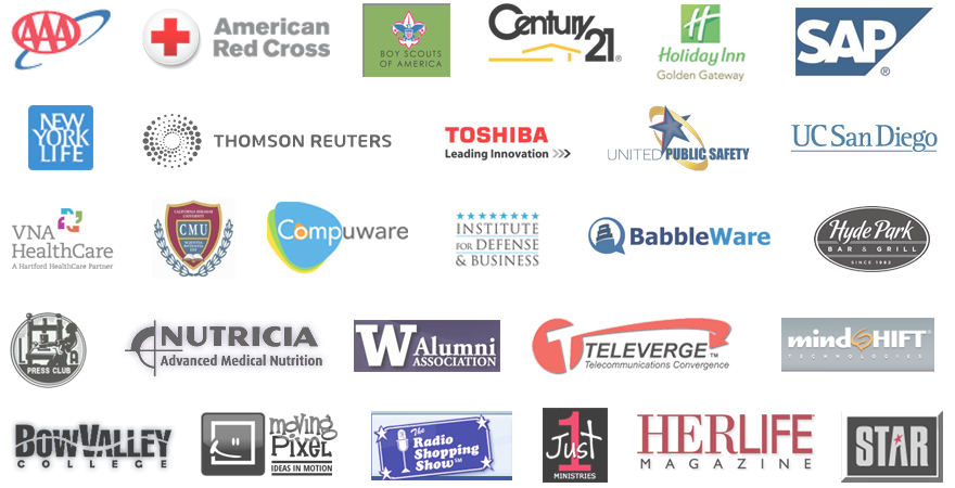 logos of companies trained by smmu with reviews